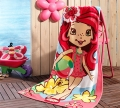 Taç Strawberry Shortcake Summer Plaj Havlusu